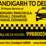 Thumb chandiarh to delhi one way taxi service