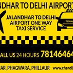 Thumb jalandhar to delhi airport one way taxi service